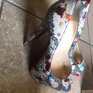 Christian Louboutin Shoes - Christian Louboutin Highness 160 Python Carnaval